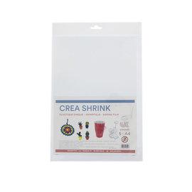 Crea Shrink A4 transparant - Clear (5 vellen)