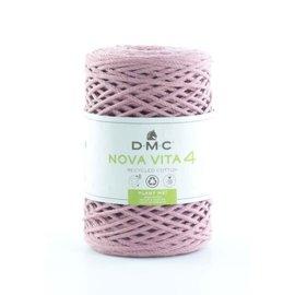 DMC Nova Vita 4mm  col.04 Oud roze bad 804 250gr.