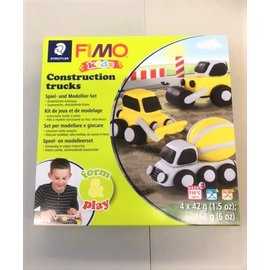 "Fimo kids Form&Play ""Construction trucks"""