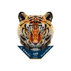 Houten Puzzel Gaze of a tiger 30x30cm