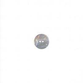 Knoop rond  15mm Nacre - parelmoer (natuur)