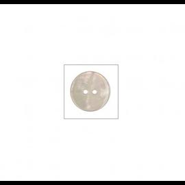 Knoop rond  15mm Nacre - parelmoer (bruin)