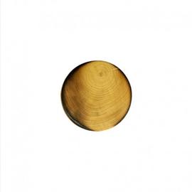 Houten knoop rond 22mm col. 015