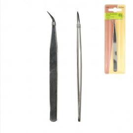 Pincet 12,7cm gebogen punt