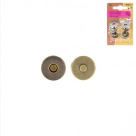 Magneetsluiting 19mm brons