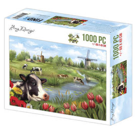 puzzel 1000 pc - Amy Design - The Netherlands