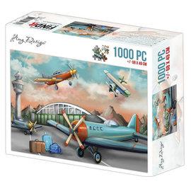 puzzel 1000 pc - Amy Design - Planes