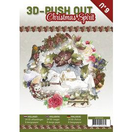 3D Push Out Book Christmas Spirit
