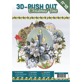 """3D Push out Out Book """"Christmas Time"""""""