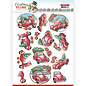 3D Push Out - Yvonne Creations - Christmas Village - Christmas Transportation