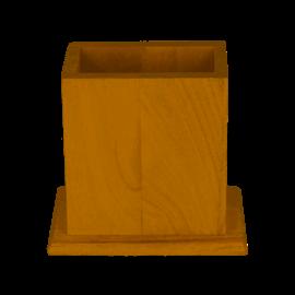 Houten Potloodhouder 12x7cm