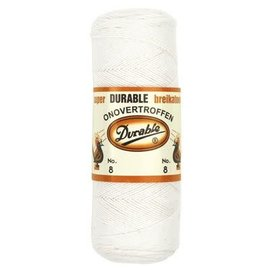 Durable Durable breikatoen dikte 8 100g 009 wit bad 037