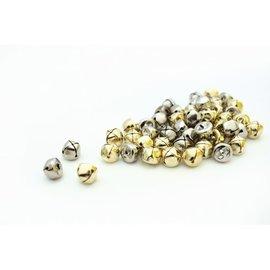 Belletjes 13mm - Goud en zilver (10 st)