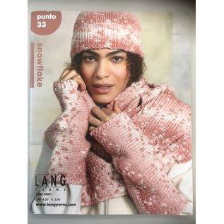 Lang Yarns Boek  Punto 33 - Snowflake