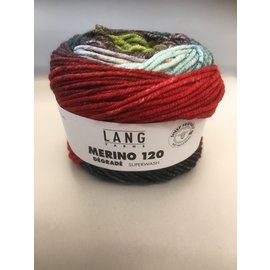 Lang Yarns Merino 120 Dégradé 11 bad 4624