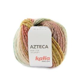 Katia AZTECA 7880 Turquoise-rood-beige bad 41144