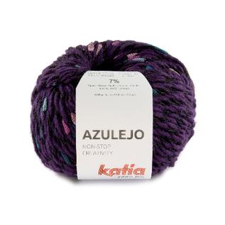 Katia AZULEJO 401 Lila-Bleekrood-Hemelsblauw bad 44453A