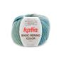 Katia BASIC MERINO COLOR 200 Groenblauw-Bruin bad 42144