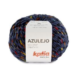 Katia AZULEJO 400 Jeans-Blauw-Groen-Geel-Rood bad 44537A