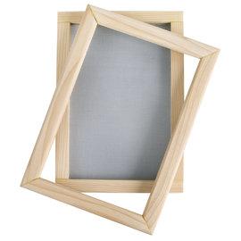 Rayher Frame van papieren lepel, naturel