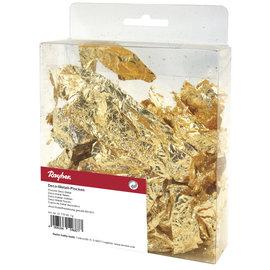 Rayher Deco metaalvlokken, goud, 1g