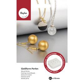 Rayher Siliconen mal voor parels