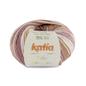 Katia BABY JACQUARD 92 Beigebruin-Roze bad 36587