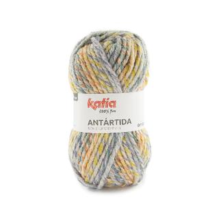 Katia ANTARTIDA 300 Blauwgroen-Oranje-Oker bad 38752
