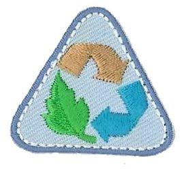 Applicatie Recycle ca. 3,5x3cm