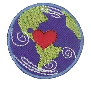Applicatie Earth ca. 4,5cm