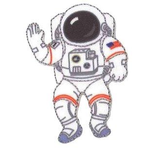Applicatie Astronaut ca. 6x4,5cm