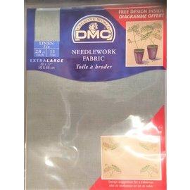 DMC DMC Borduurlinnen grijs 50x68cm