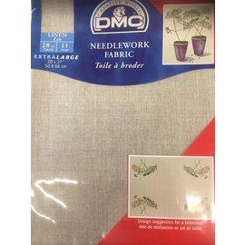 DMC Linen 28ct 11dr 50x68cm 3866