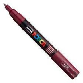 Posca Marker 0.7mm wijnrood - Extra Fine
