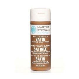 MARTA STEWART Martha Stewart craft paint CHESTNUT BROWN satin Multi-Surface