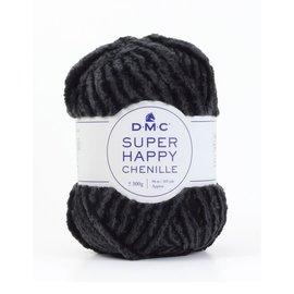 DMC DMC Super Happy Chenille 300gr zwart-grijs 151 bad SP002