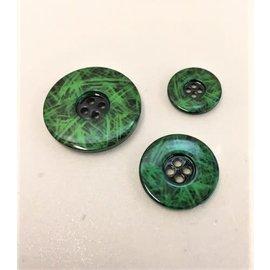 knoop rond 30mm 2440A B groen per stuk