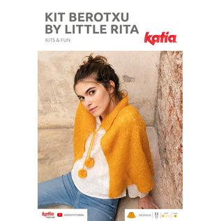 Katia instructieboekje voor een damescape met rondbreinaalden Little Rita