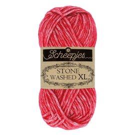 Scheepjes Stone Washed XL 847 Red Jasper bad 0116