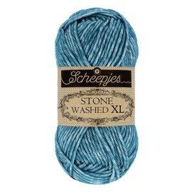 Scheepjes Stone Washed XL 845 Blue Apatite bad 0116