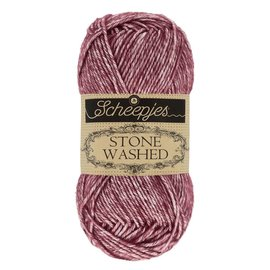 Scheepjes Stone Washed 810 Garnet bad 1002