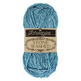 Stone Washed 805 Blue Apatite  bad 10022