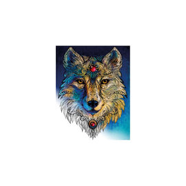 Graine Creative Diamond painting kit 40cm x 50cm - Wolf