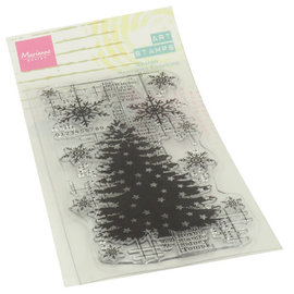 Marianne design Clear Stamp Christmas Tree ca. 14x7cm