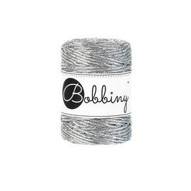 Bobbiny Bobbiny Macramé 3mm metallic Silver