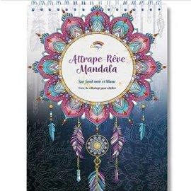 Kleurboek voor volwassenen 30 afb. Attrape Reve Mandalas zw/w