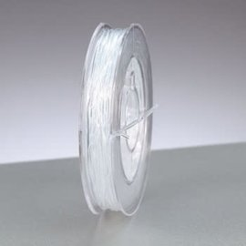 Elastisch garen 1mm 5m transparant