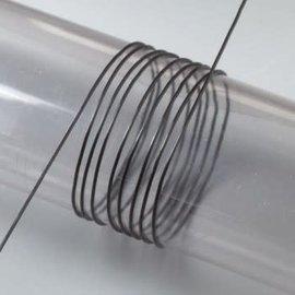 Elastisch garen 0,5mm 10m zwart
