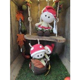 Haakpakket Funny Mushroom set
