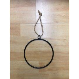 Metalen ring om op te hangen 15cm
